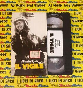 VHS film IL VIGILE alberto sordi de sica cinema italia 13 l'unita' (F184) no dvd