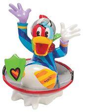 Disney by Romero Britto Donald Duck in Disc Sled Figurine Ornament 8cm 4046360