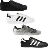 Adidas Mens Trainers Superstar Originals Casual Shoes Low Top Retro Sneakers
