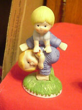 Enesco Country Cousins Katie & Scooter Leapfrogging