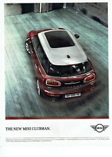 Publicité Advertising 127  2015   la Mini Cooper Clubman