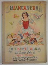 disney BIANCANEVE E I SETTE NANI collezioni Lampo completo cards album 240/240