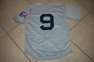 New! Ted Williams Boston Red Sox Gray Heavyweight Baseball Jersey Adult Men's XL