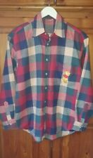 More details for vintage the disney store check winnie the pooh shirt size s small