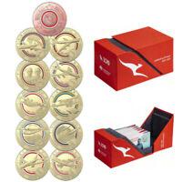 2020 Qantas Centenary Coin Set $1 Coloured Uncirculated Coin