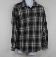 Orvis Mens Button Down Long Sleeve Plaid Flannel Shirt Size M Medium