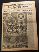 1944 Sporting News BROOKLYN Dodgers DIXIE Fred WALKER Chicago Cubs NICHOLSON