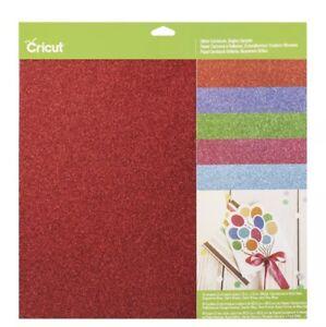 New Cricut Glitter Cardstock Brights Sampler