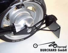 Support de plaque d'immatriculation latéral noir Suzuki VL - M avec TÜV