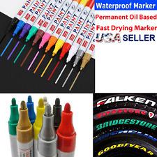 Tire Paint Marker Pen Car Tyre Rubber Permanent Universal Waterproof Oil Based