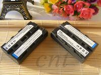 2x NP-F550 Battery for Sony NP-F570 NP-F330 F530 NP-F550 NP-F750 NP-F570