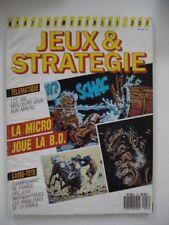 revue magazine JEUX & STRATEGIE 1987 amstrad atari amiga comodore
