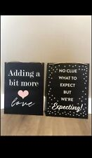 Baby Announcement Signs (can hang too)