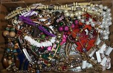 JUNK DRAWER FASHION JEWELRY LOT REPAIR WEAR SCRAP #MC3Y