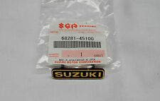 SUZUKI GS1100,GS1000,GS850 68281-45100 HANDLE BAR CLAMP COVER EMBLEM BADGE B-005