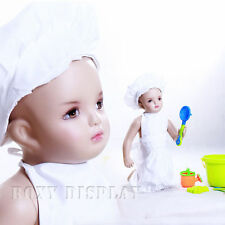 Fiberglass Kids Children Baby Realistic Mannequin Manikin Display #Mz-Ann1
