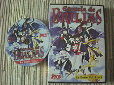 DVD ANIME ESCUELA DE BRUJAS LA SERIE VOLUMÉN 3 CAPITULOS 10-13 USADO BUEN ESTADO