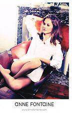 PUBLICITE ADVERTISING 2013   ANNE FONTAINE  haute couture