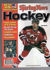 2000-01 THE SPORTING NEWS HOCKEY YEARBOOK-SCOTT STEVENS-NEW JERSEY DEVILS-JAGR