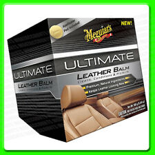 Meguiars Ultimate Leather Balm Kit [G18905EU] Clean Conditioner Protects