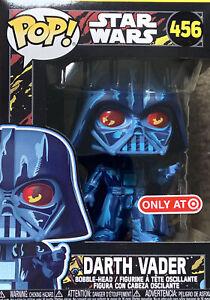 Funko Pop! Star Wars - Retro Series - Darth Vader #456 Target Exclusive IN HAND