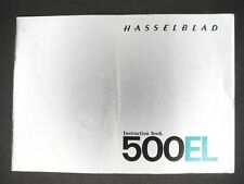 Hasselblad 500El 1969 Camera Instruction Book / Manual / User Guide