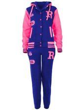 Vêtements survêtements roses en polyester pour fille de 2 à 16 ans