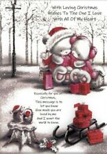 Christmas Card for Partner Wife Husband Girlfriend Boyfriend Romantic Love