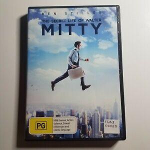 The Secret Life of Walter Mitty | DVD Movie | 2013 | Ben Stiller, Kristen Wiig