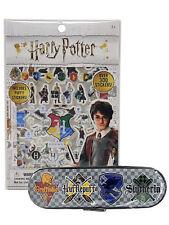 Harry Potter Hogwarts School House Crests Tin Pencil Case & Puffy Sticker Sheet
