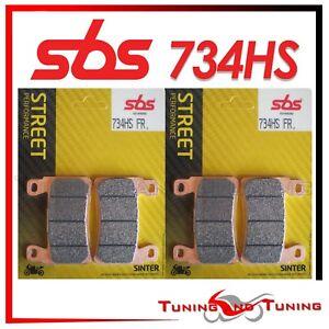 Pastiglie Anteriori SBS HS Sinter Per HONDA CBR 600 RR 2003 03 2004 04  (734 HS)