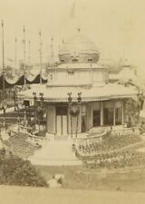 French Emperor Pavillion 1867 Paris World's Fair Leon & Levy Old CDV Photo