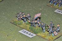 25mm ACW / union - american civil war infantry 15 figures - inf (12420)