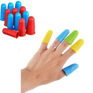 Silicone Elastic Finger Cot Protective Cover For High Resistance W2X1