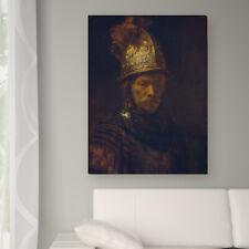 """WANDKINGS Leinwandbild Rembrandt- """"der Mann mit dem Goldhelm"""""""