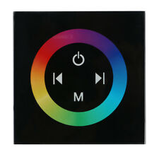 Wall Mounted Touch Panel LED Controller Dimmer Switch for RGB Led Strip Light