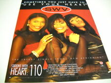 Swv Rare 1996 Radio Promo Display Ad 125 Sometimes You Have To Have Heart - 110