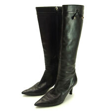 Louis Vuitton Boots with logo Ladies Authentic Used Y892