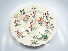 "Antique Wedgwood Etruria Swallow Round Chop Plate Serving Platter, 12 1/2"""