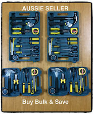 2x 13 piece medium & 2x 9 Piece small portable bulk tool box kit