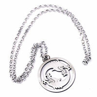 Overwatch Hanzo Necklace Cool Silvery Necklace Accessory OW Ornaments