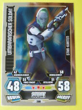 Force Attax Star Wars Serie 3 (2012), Umbaranischer Soldat (207), Star-Karten