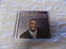 Seon Thompson I'M OUT-LIVE (2009, CD, Just Wait Recordings)