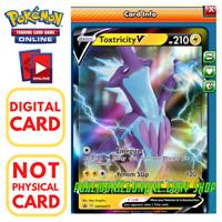 Sent Fast In-Game Pokemon PTCGO Keldeo V 053//202 Online Digital Card SWSH