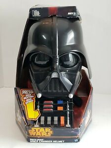 2013 Star Wars Darth Vader Electronic Voice Changer Helmet  #999748 HASBRO *NEW*