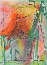 Salvador Dali - Horse of Death (signed lithograph, 1983)