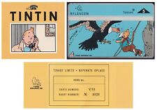 Belgium 1996 TINTIN by Herge Collector Phone card V/VI Limited Edition.....X3508