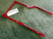 Brace bar, rear subframe chassis, Mazda MX-5 mk2 & mk2.5, MX5 NB, recon, Red