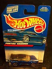 HOT WHEELS 2000 #119 -2 PONTIAC RAGEOUS BLACK ROOF 00C ROUND TOP