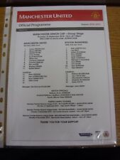 23/09/2010 Manchester United v Bolton Wanderers [Manchester Senior Cup] [At Altr